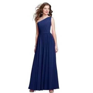 Alfred Angelo royal blue brides maid dress